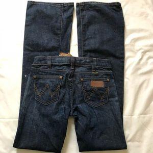 Wrangler Ayden Low Rise Flare Jeans Sz 25